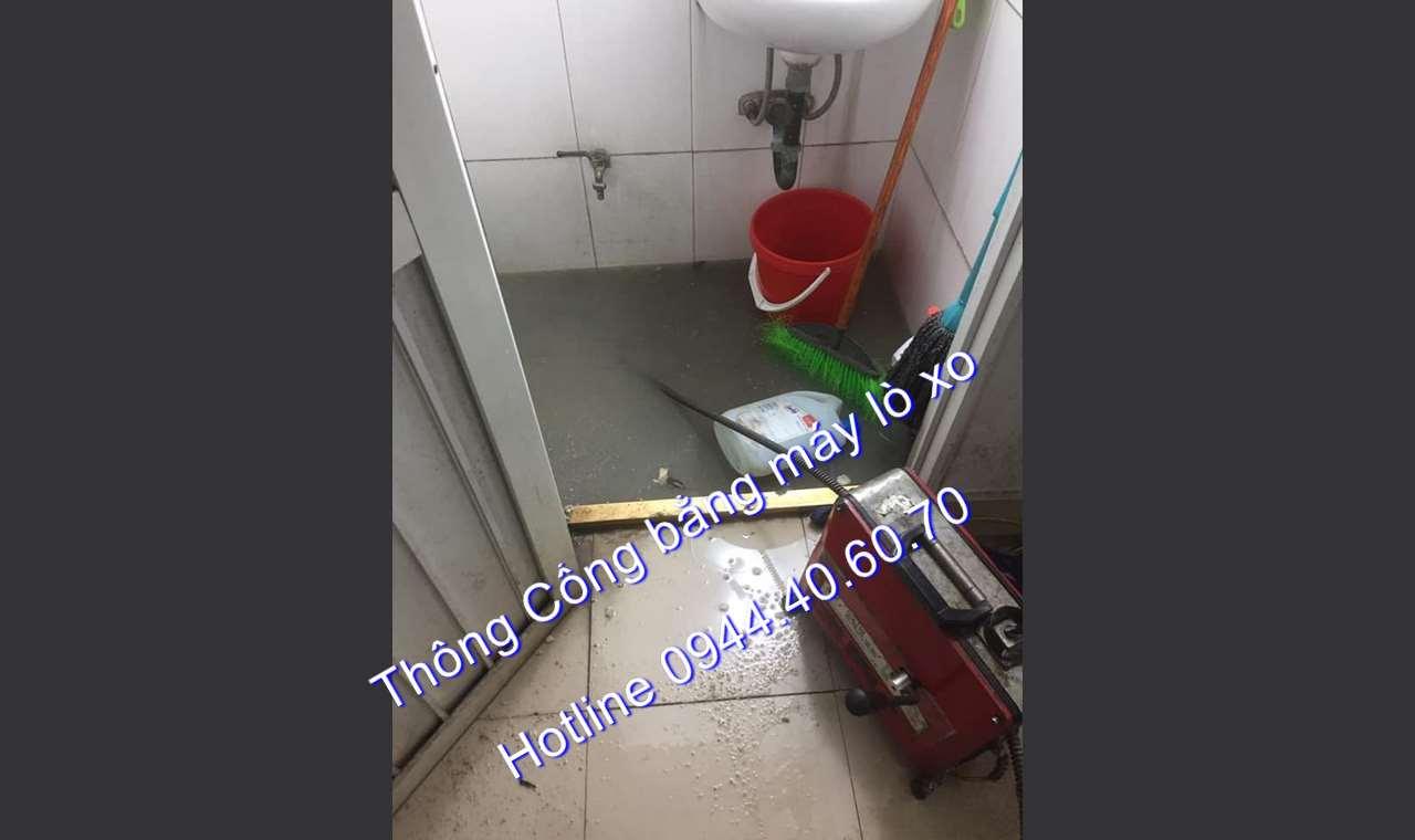 Thông cống Phường Tân Định