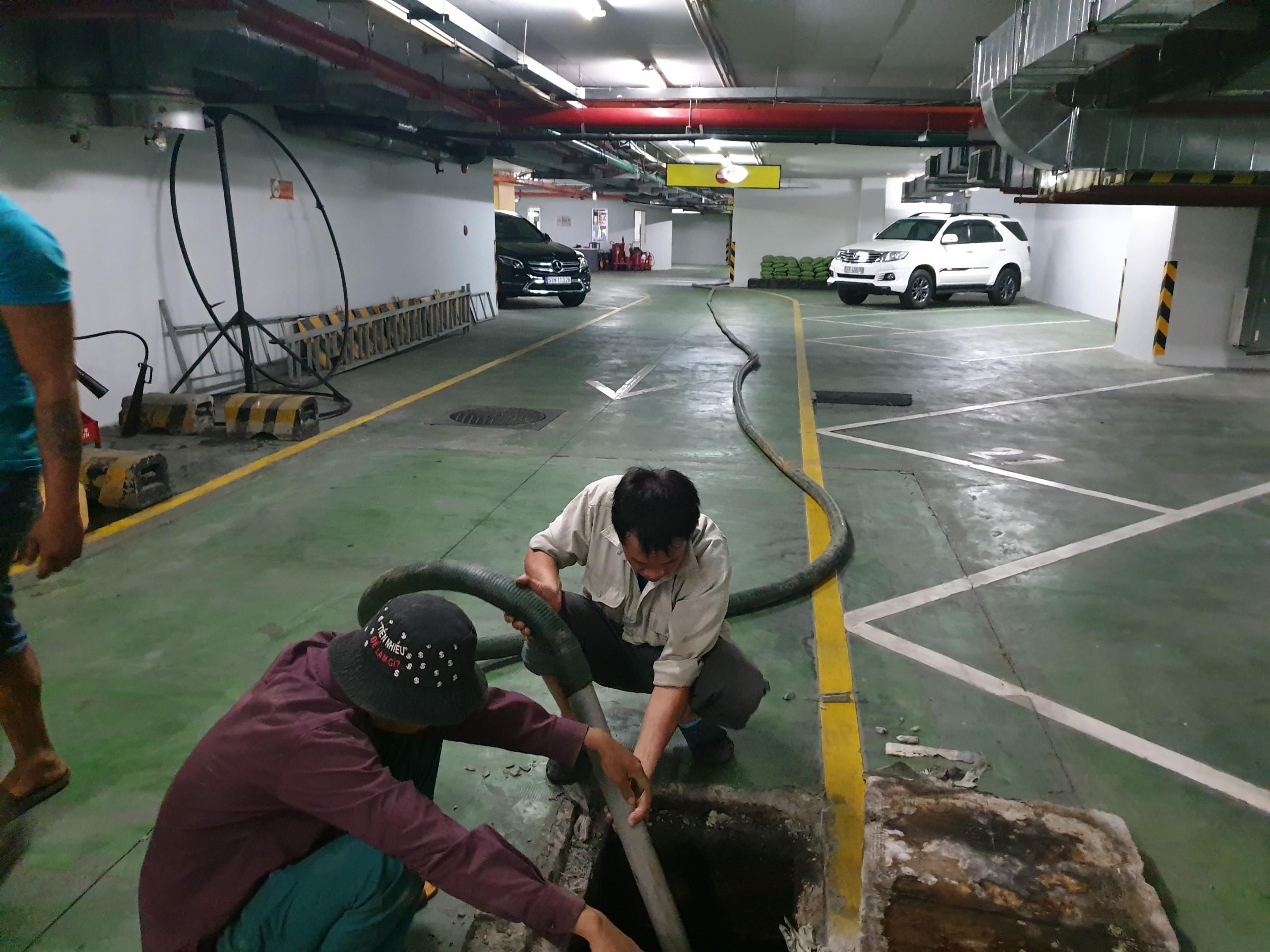 Hút hầm cầu khu công nghiệp Cát Lái 2