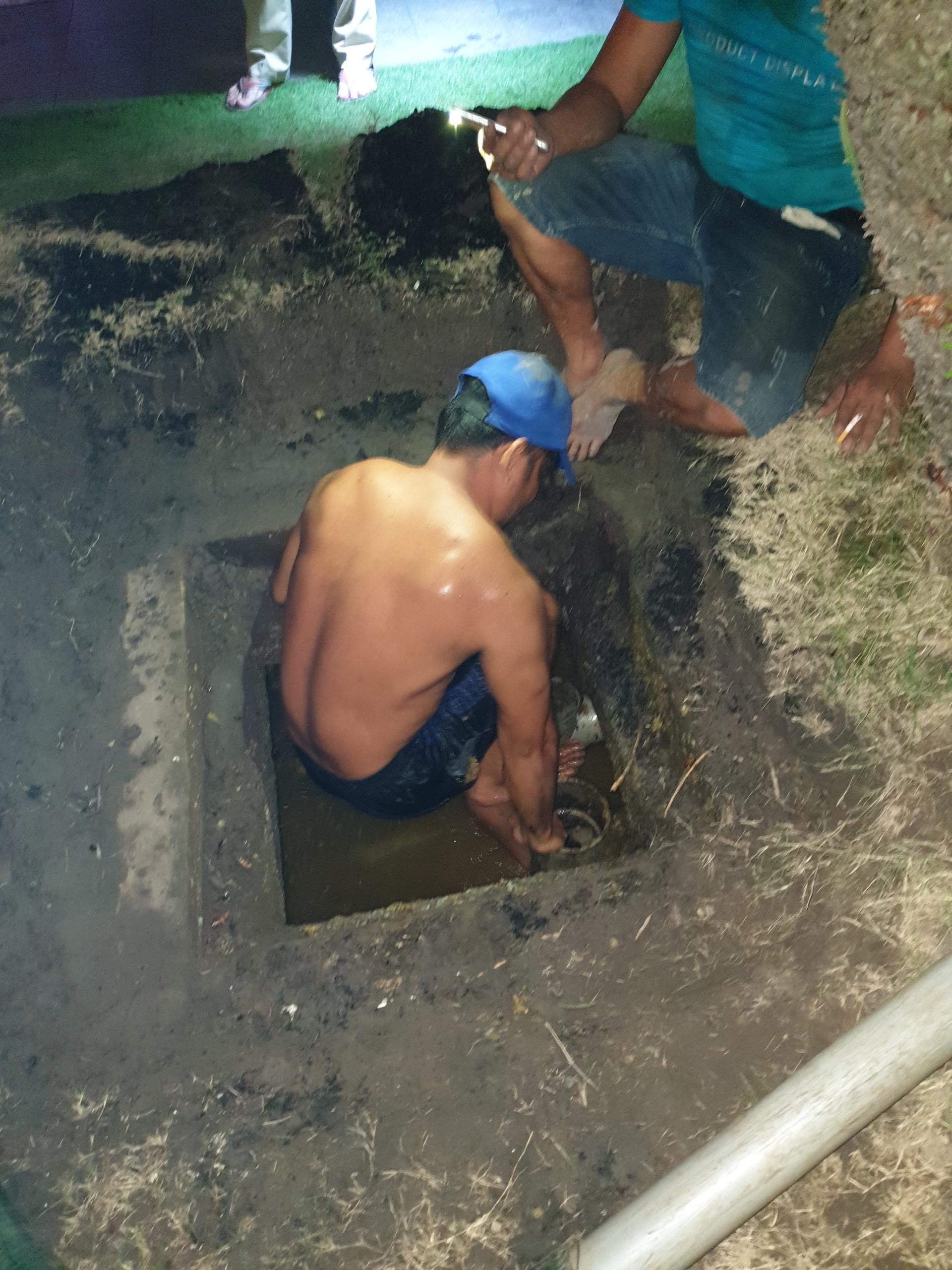 Hút hầm cầu cụm công nghiệp Dương Công Khi