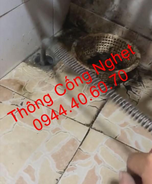 Thông cống Phường Tân Thuận Tây